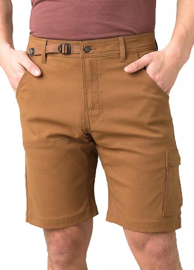 Prana Adult Unisex Stretch Zion Shorts, S Sepia