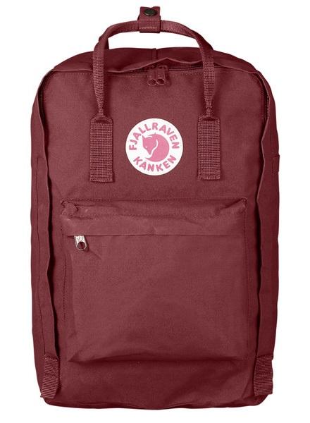 """Fjallraven Kanken Laptop 17"""" Backpack, 20L Ox Red"""