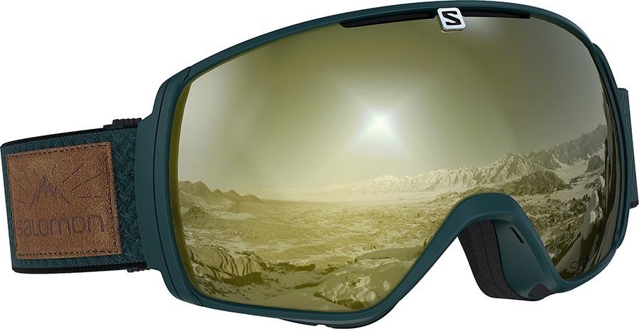 Salomon XT One Sigma Snowboard/Ski Goggles, M/L Green Gables