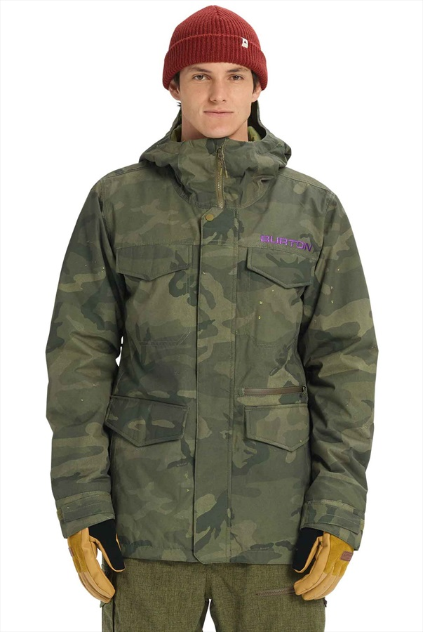 Burton Covert Ski/Snowboard Jacket, S Worn Camo