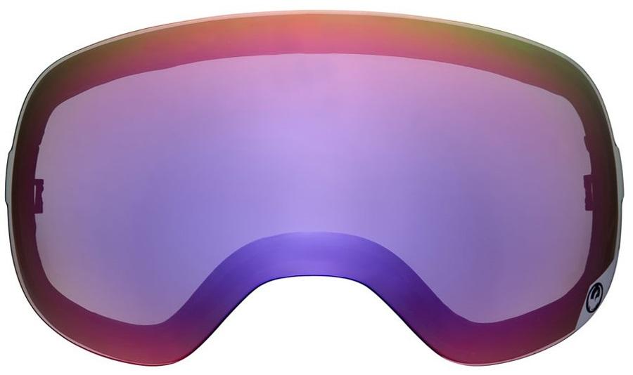 Dragon X1 Snowboard/Ski Goggle Spare Lens, One Size, Purple Ion