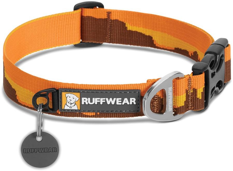 Ruffwear Hoopie Webbing Dog Collar, L Monument Valley