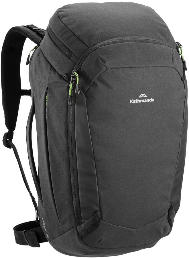Kathmandu Litehaul Pack 28 Carry-On Travel Bag 28L Black
