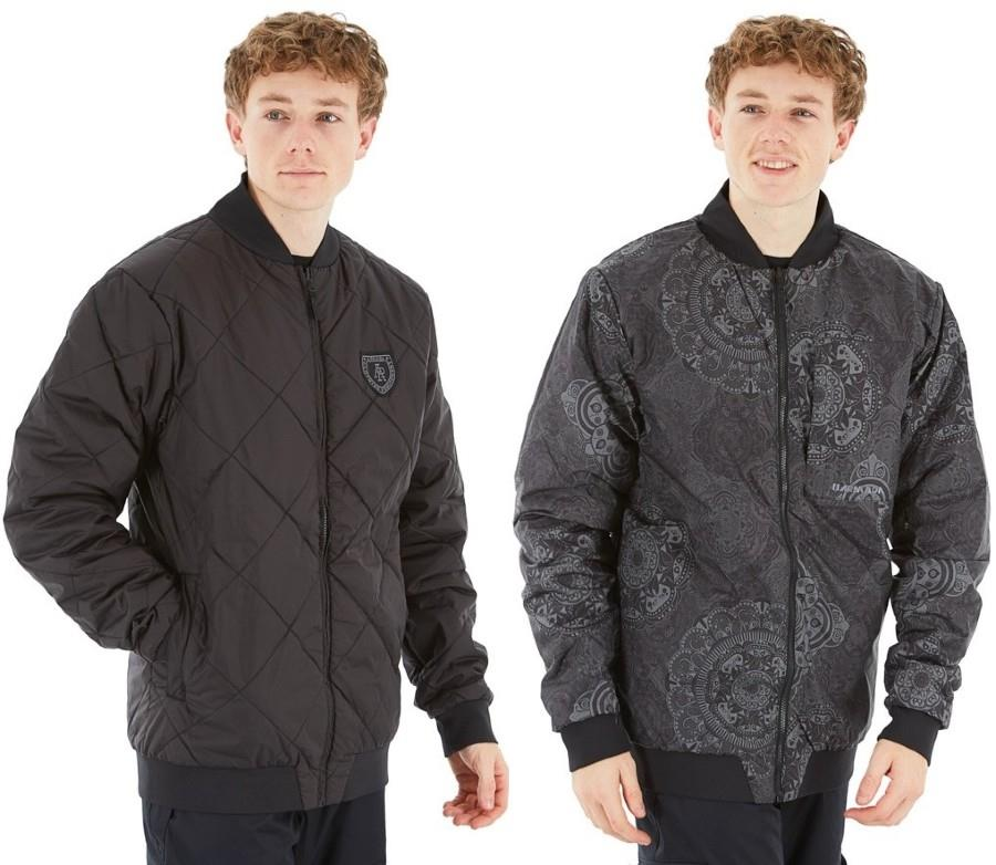 Armada Billy Bomber, Reversible Insulated Ski Midlayer Jacket XL Black