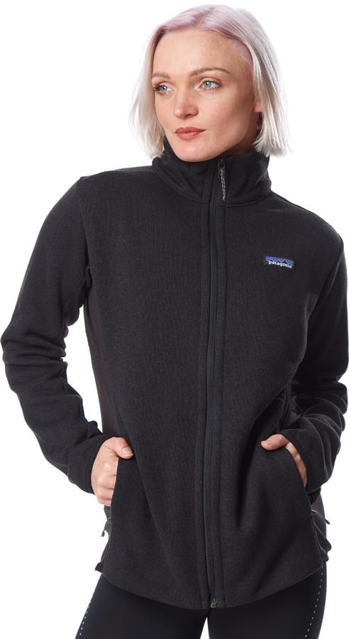 Patagonia Womens Lightweight Better Sweater Womens Fleece Jacket, Uk 14 Black
