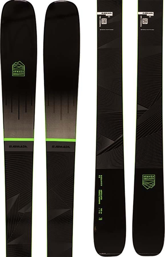 Armada Declivity 92 Ti Skis 172cm, Blue/Green, Ski Only