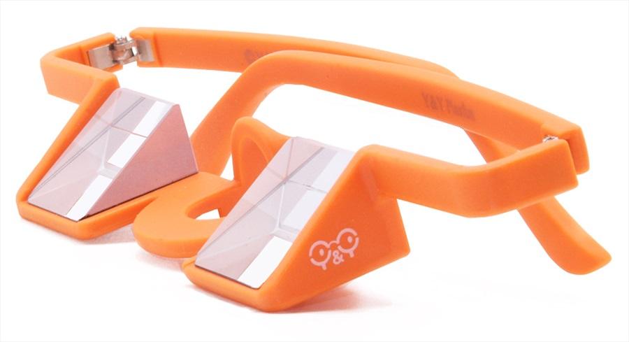 Y&Y Belay Glasses Plastic Climbing Glasses Orange