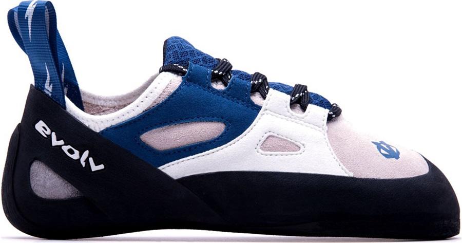 Evolv Womens Skyhawk Rock Climbing Shoe UK 6 | EU 39.5 Blue/White/Pink