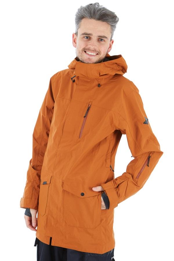 Dakine Vapor Gore-Tex 2-Layer Ski/Snowboard Shell Jacket, S Ginger
