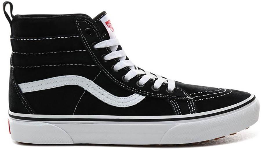 Vans Sk8-Hi Mte Skate Shoes, Uk 6.5 Black/True White