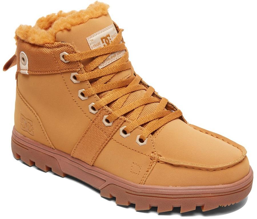 DC Woodland Women's Winter Boots, UK 4 Tan