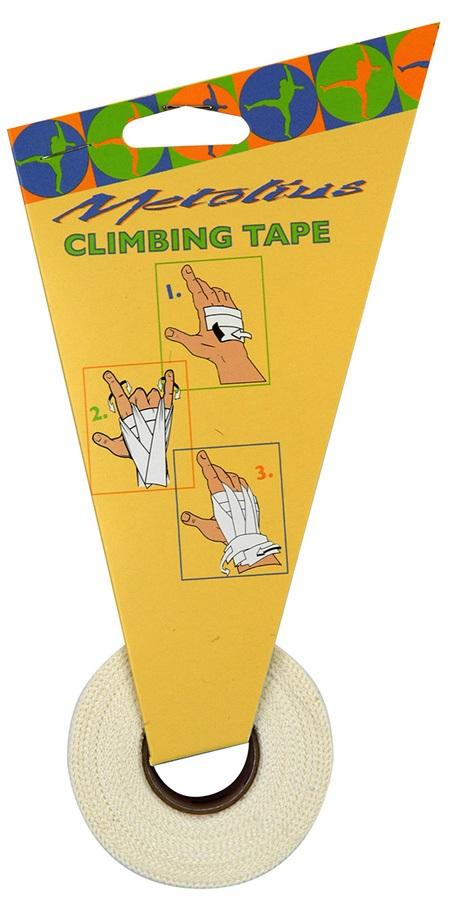 Metolius Finger Tape, Rock Climbing, Gym & Weight Lifting, White