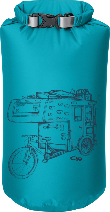 Outdoor Research Graphic Dry Sack Equipment Dry Bag, 35L Dirtbag