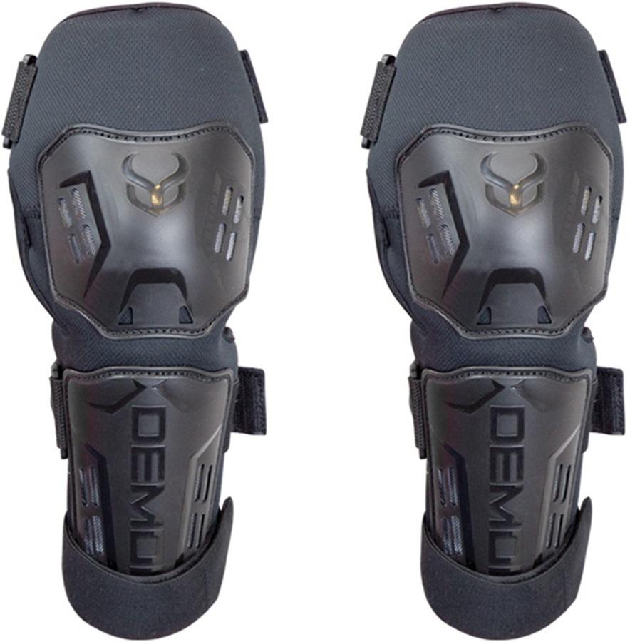 Demon Tactic Shorty Ski/Snowboard Knee Pads, S/M Black