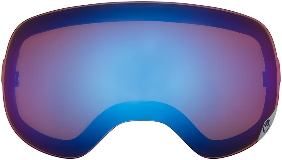 Dragon X1 Snowboard/Ski Goggle Spare Lens, One Size, Blue Steel