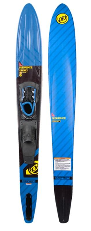 "O'Brien Sequence Slalom Waterski, 69"" | W/ X9 Std Blue Black"