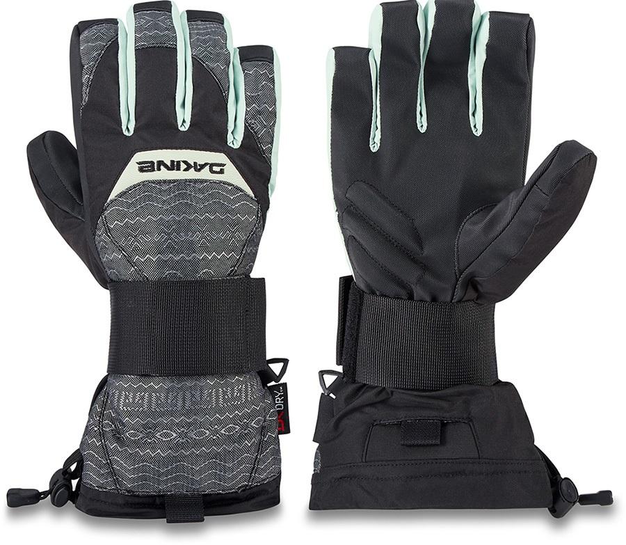 Dakine Wristguard DK Dry Women's Ski/Snowboard Gloves, L Hoxton