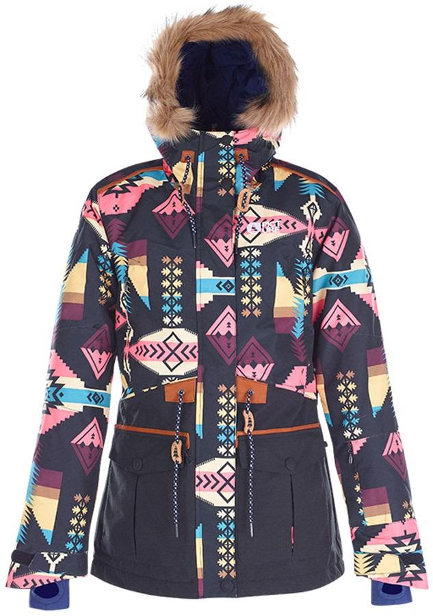 Picture, Apply, Women's Ski/Snowboard Jacket, S, Black