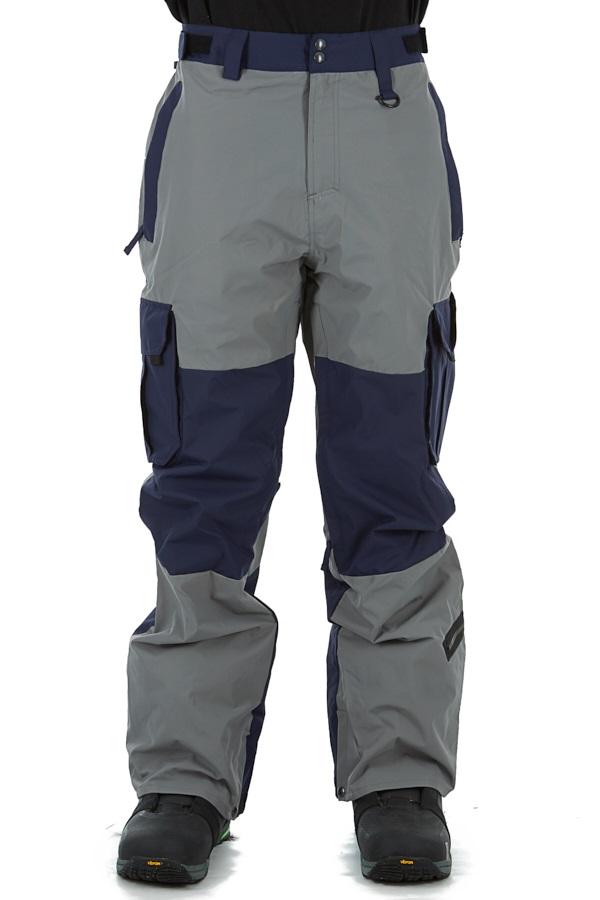 Sessions Major Ski/Snowboard Pants, L Gun Metal