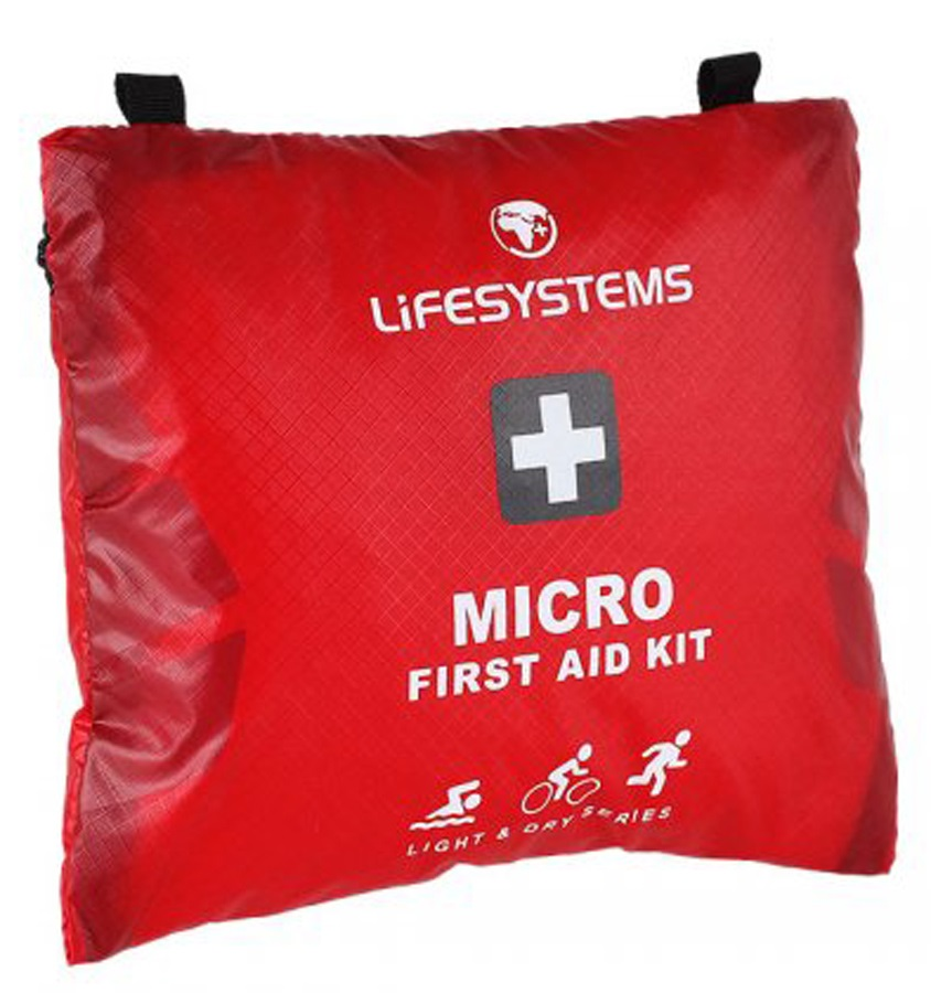 Lifesystems Light & Dry Micro Pocket First Aid Kit, 32 items Red