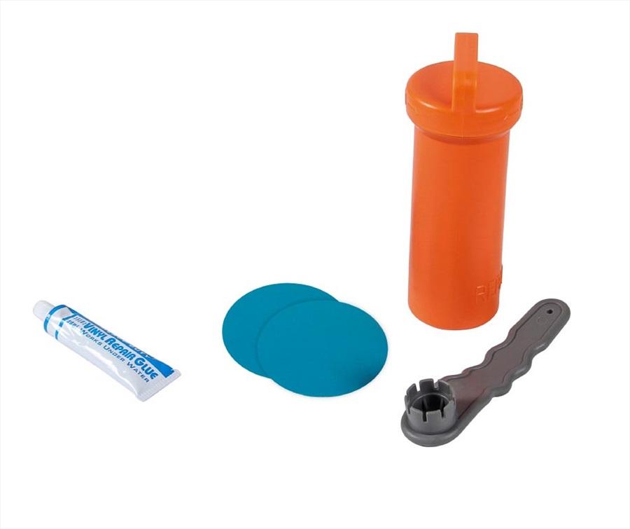 Jobe Aero SUP Repair Kit, Patch and Glue Orange Blue 2021