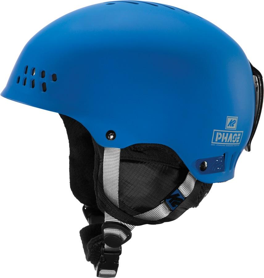 K2 Adult Unisex Phase Pro Ski/Snowboard Helmet, S Navy