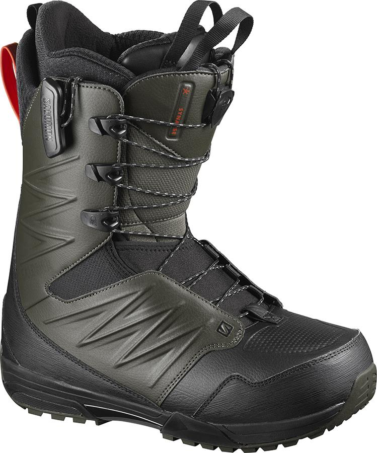 Salomon Synapse Wide JP Mens Snowboard Boots, UK 11 Green 2021