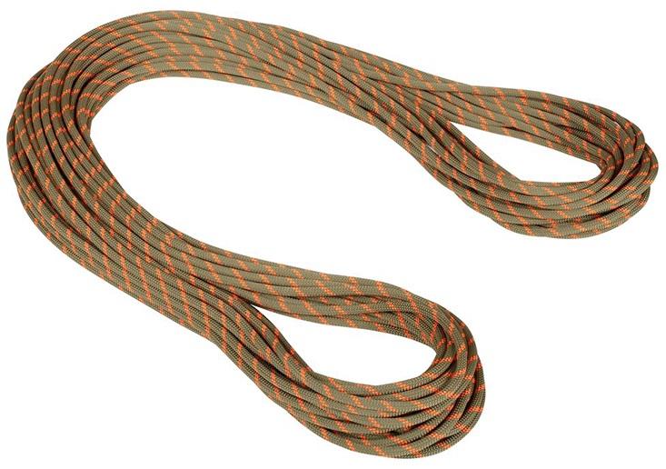 Mammut 8mm Alpine Dry Rope Rock Climbing Rope, 30m X 8mm Boa-Saftey Orange