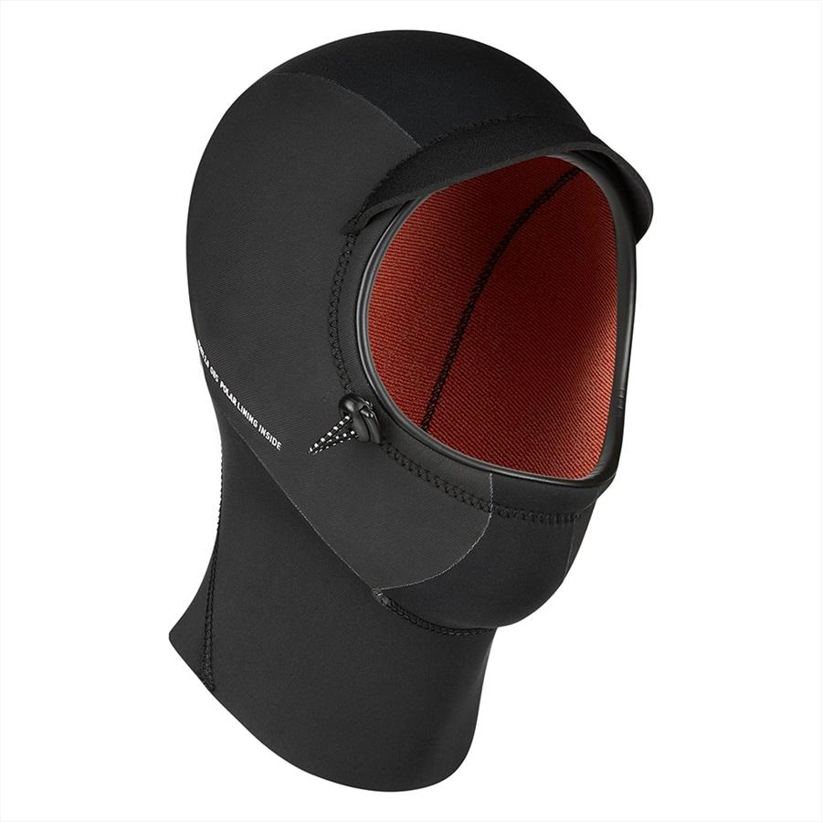 Mystic 3mm Marshall Wetsuit Hood, L/XL Black 2021