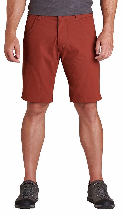 "Kuhl Adult Unisex Ramblr Climbing/Hiking Shorts, 32"" Cayenne"