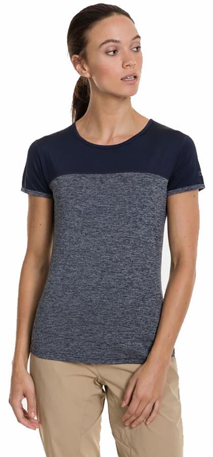 Berghaus Voyager Tech Women's Short Sleeve T-Shirt, UK 10 Dusk