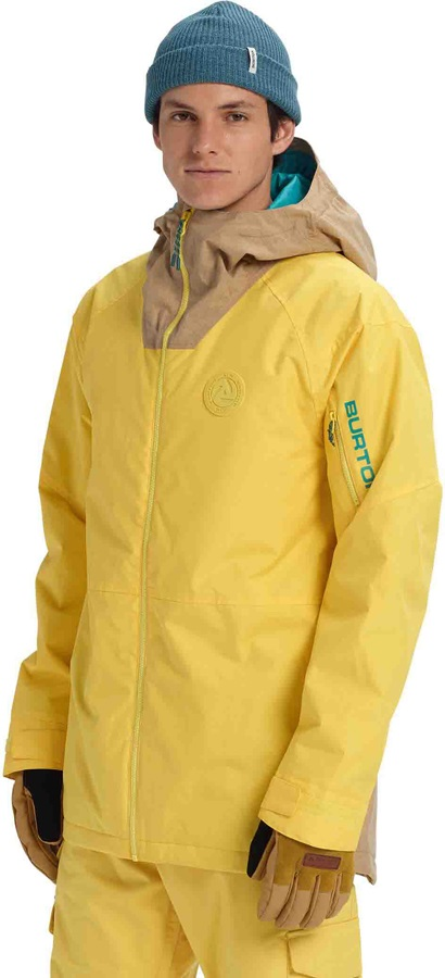 Burton Hilltop Snowboard/Ski Jacket, XL Maize/Kelp
