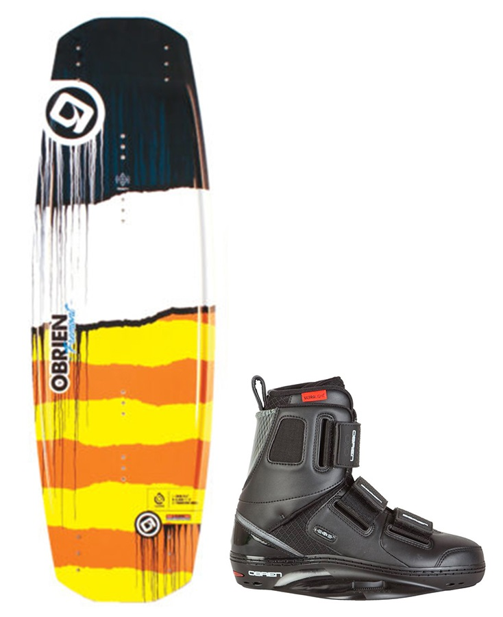 O'Brien Fremont | GTX Park Wakeboard Package, 138 | 10-12 Yel Blk