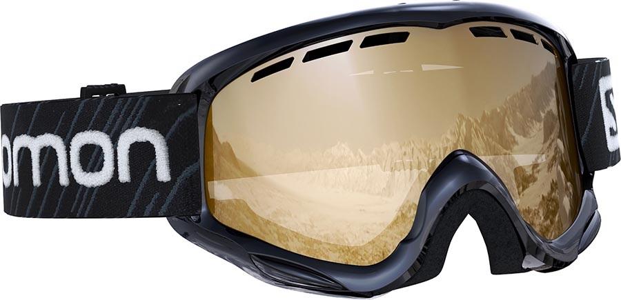 Salomon Juke Tonic Orange Kids Snowboard/Ski Goggles, M Black