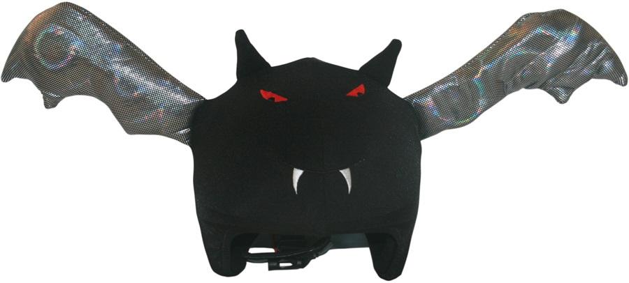 Coolcasc Animals Ski/Snowboard Helmet Cover, One Size, Bat