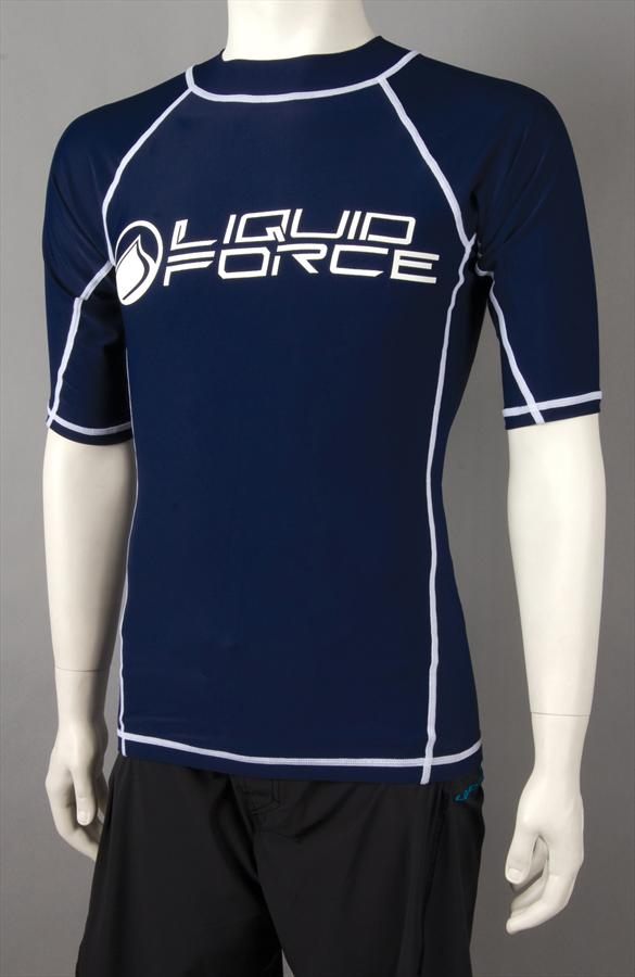 Liquid Force JR Tight Ride Thermal Riding Top Junior Large SS Navy