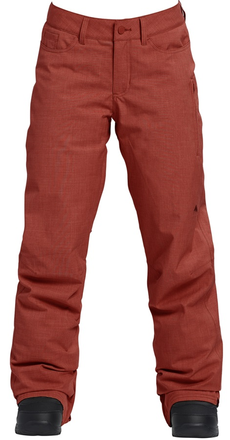 Burton Fly Pants Women's Ski/Snowboard Trousers, S Sparrow Heather