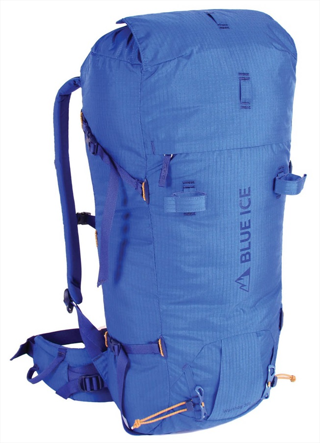 Blue Ice Warthog Backpack M/L Alpine Mountaineering Pack, 30l Blue