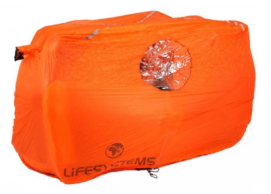 Lifesystems Survival Shelter Emergency Protection 4 Man Orange