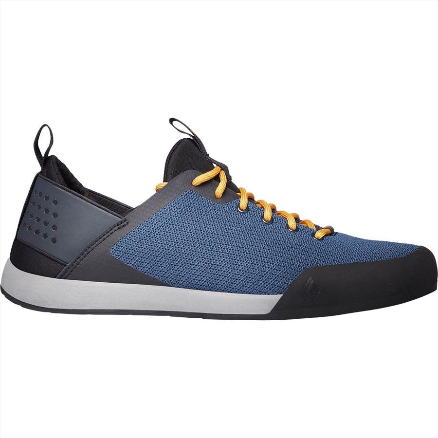 Black Diamond Mission LT Approach Shoes, UK 12 Eclipse Blue/Amber