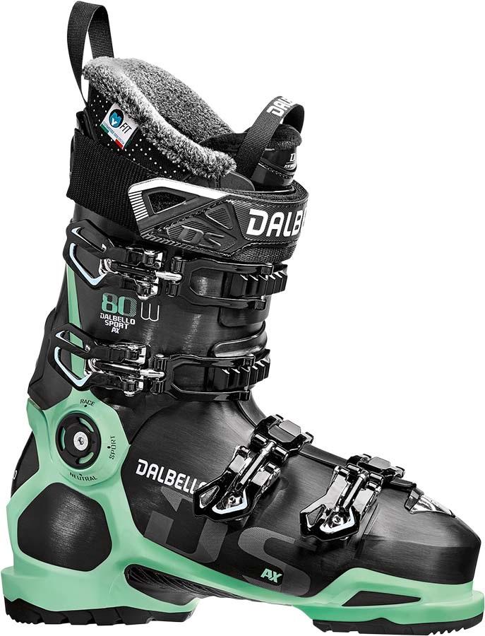 Dalbello DS 80 W Women's Ski Boots, 25.5 Black/Glacier Blue