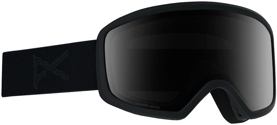 Anon Deringer Sonar Smoke Women's Ski/Snowboard Goggles, M Smoke