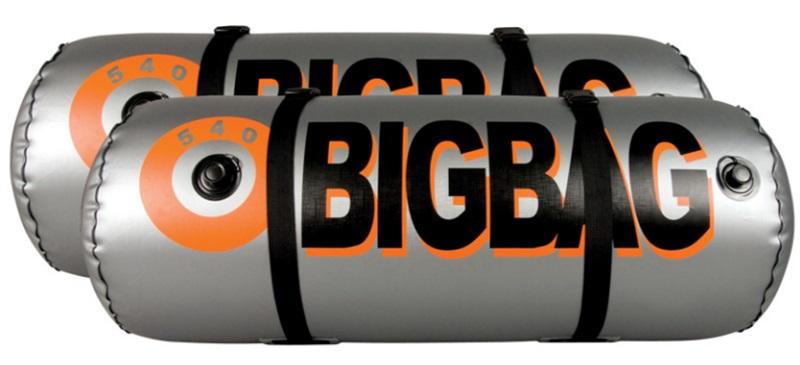 Straight Line Big Bag Ballast Bags, 540 V - 2 Bag Set Silver