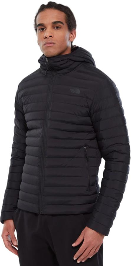 The North Face Stretch Down Insulated Hooded Jacket, XL TNF Black