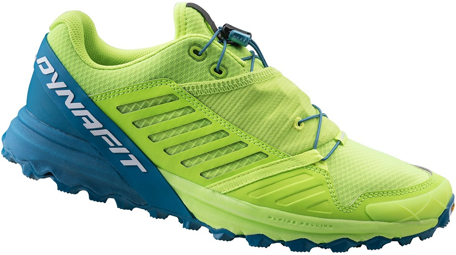 Dynafit Alpine Pro Men's Trail Running Shoes, 11 Fluo Yellow
