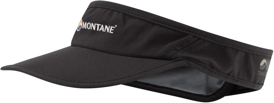 Montane Via Quick Dry Trail Running Sun Visor, Black