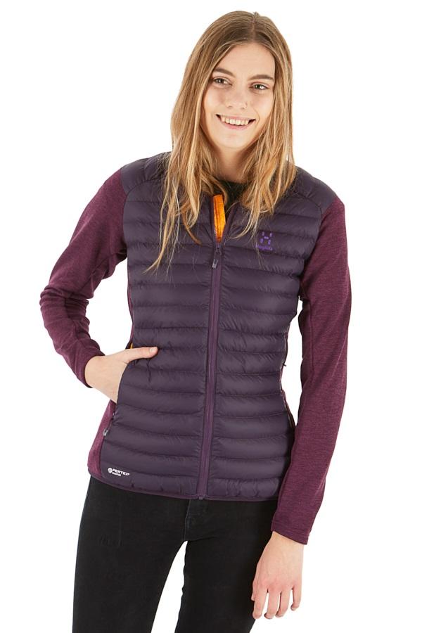 Haglofs Mimic Hybrid Women's Insulated Jacket, S Acai Berry/Lilac