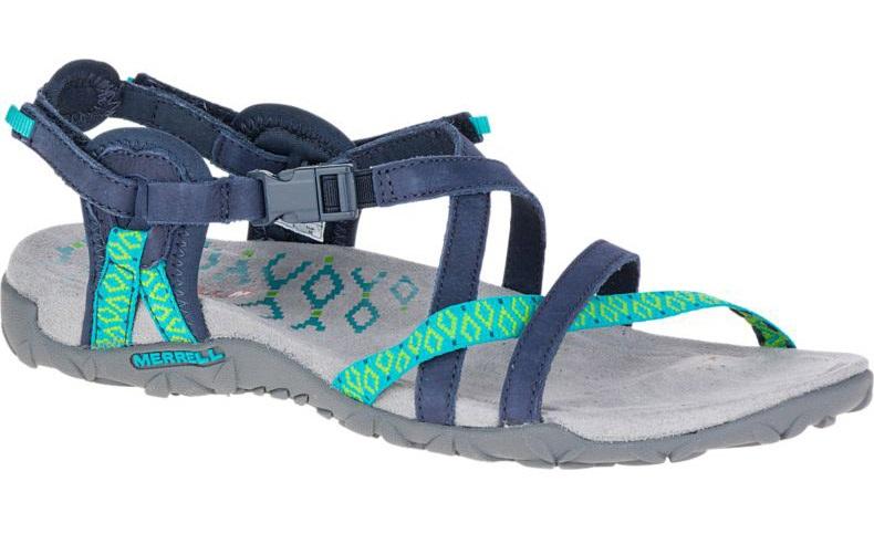 Merrell Terran Lattice II Walking Sandals/Shoes UK 4 Navy