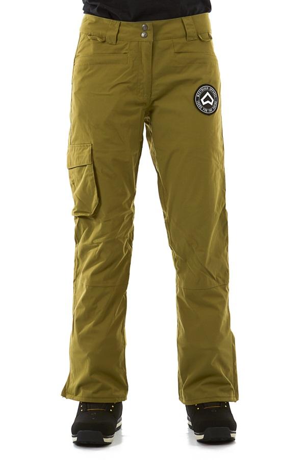 Westbeach Devotion Women's Ski/Snowboard Pants, XS Combat Green