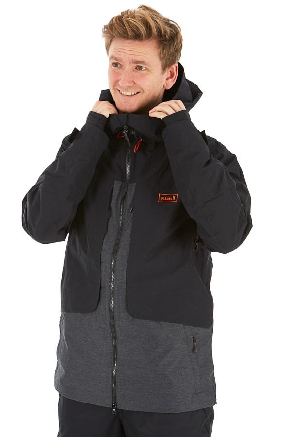 Planks Tracker Snowboard/Ski Jacket S Black
